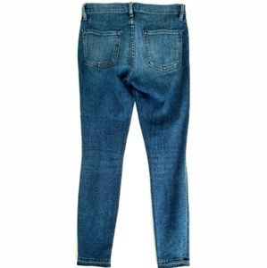 Frame Denim Jeans - Frame Denim Womens Jeans Le Skinny De Jeanne Crop